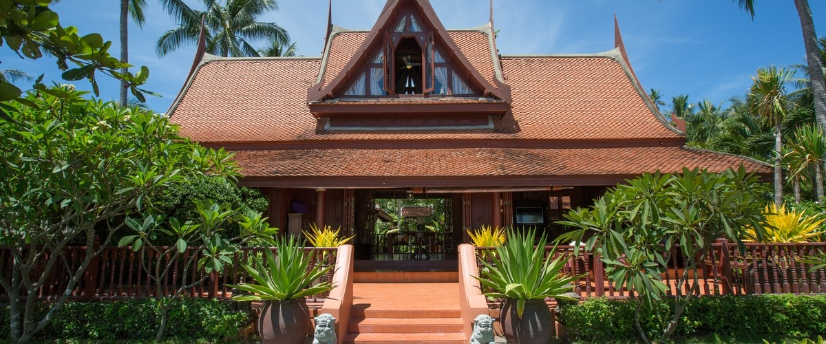 Stay in a Traditional Koh Samui Beach House