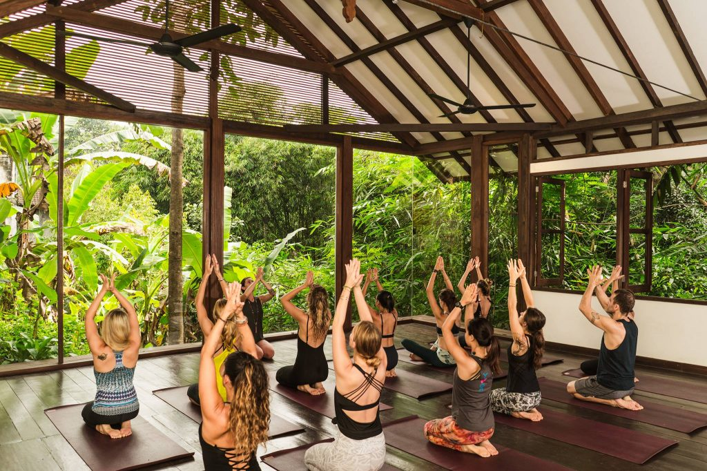 best yoga spots in Bali