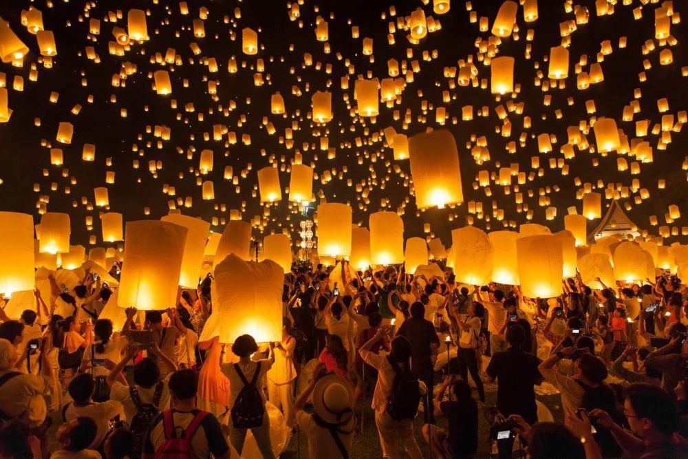 Thailand's colorful festivals